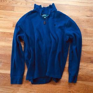Ralph Lauren Zip Up Pullover Sweater